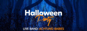 Achtung Babies in concerto at Fuori Orario   Halloween Party