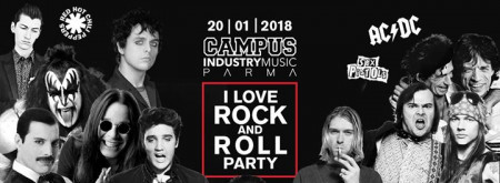 I love ROCK and ROLL party • Parma • Campus Industry Music